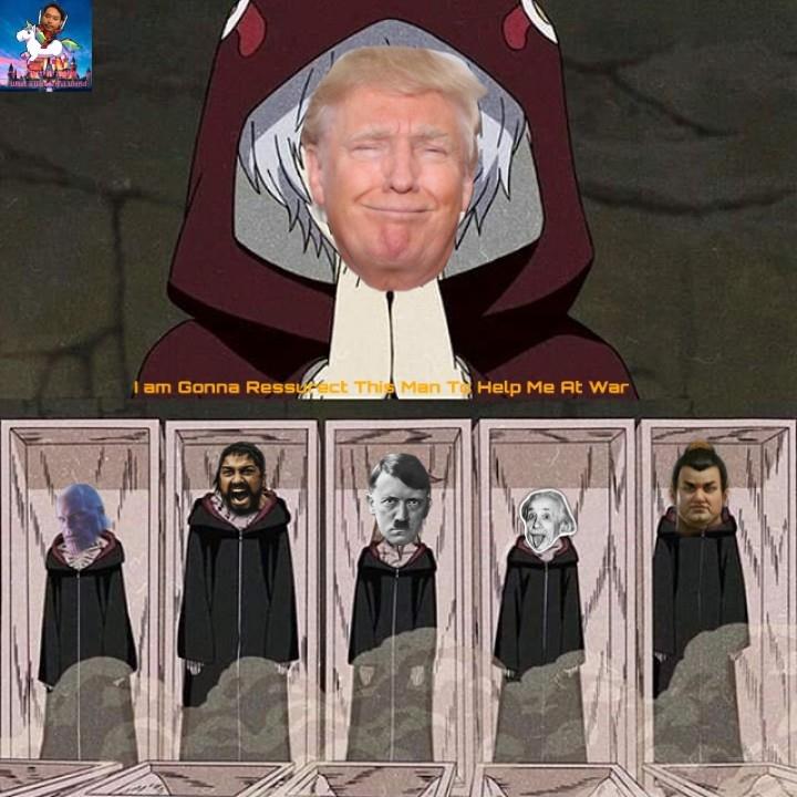 When Trump Lose Backup - meme