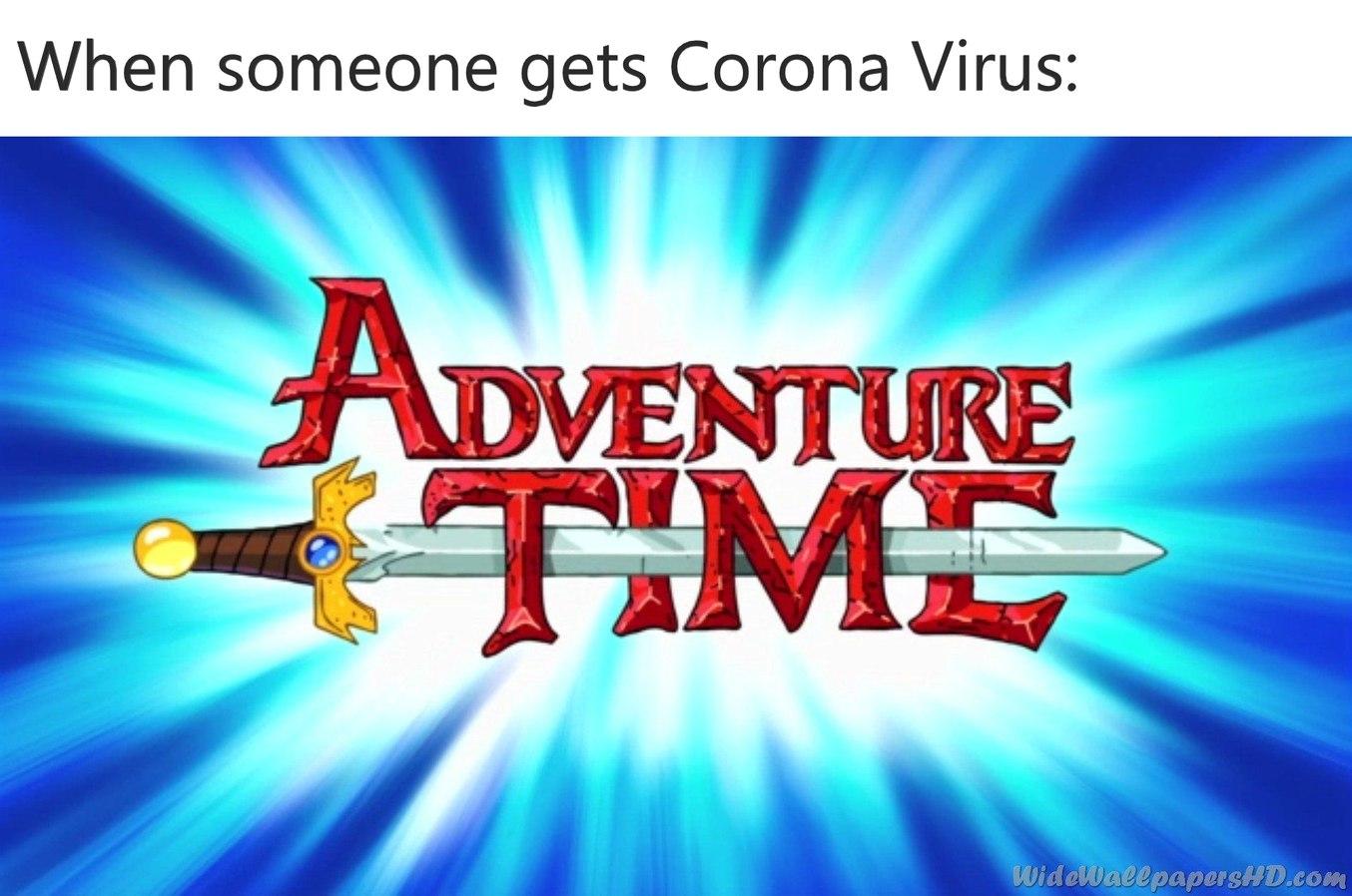 Adventure Time - meme
