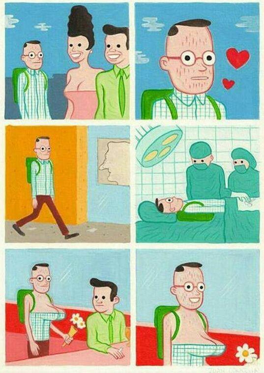 Estos comics me matan de risa - meme