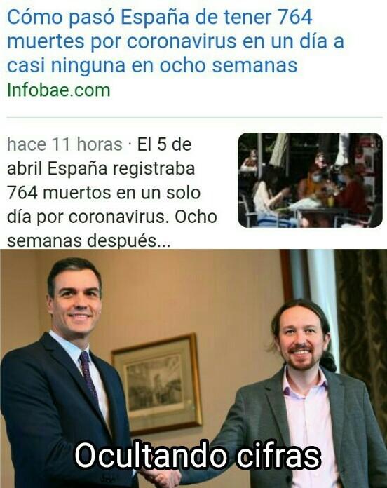 Españoles sublevense - meme