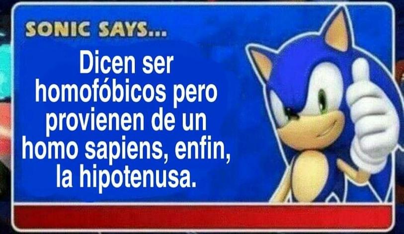 La hipotenusa - meme