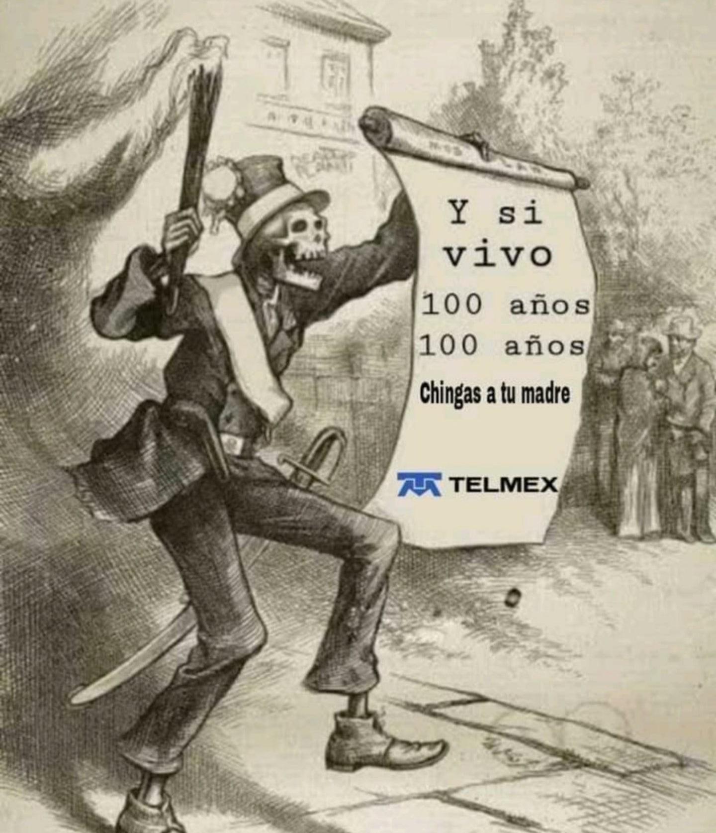 Alto lag Telmex gracias - meme