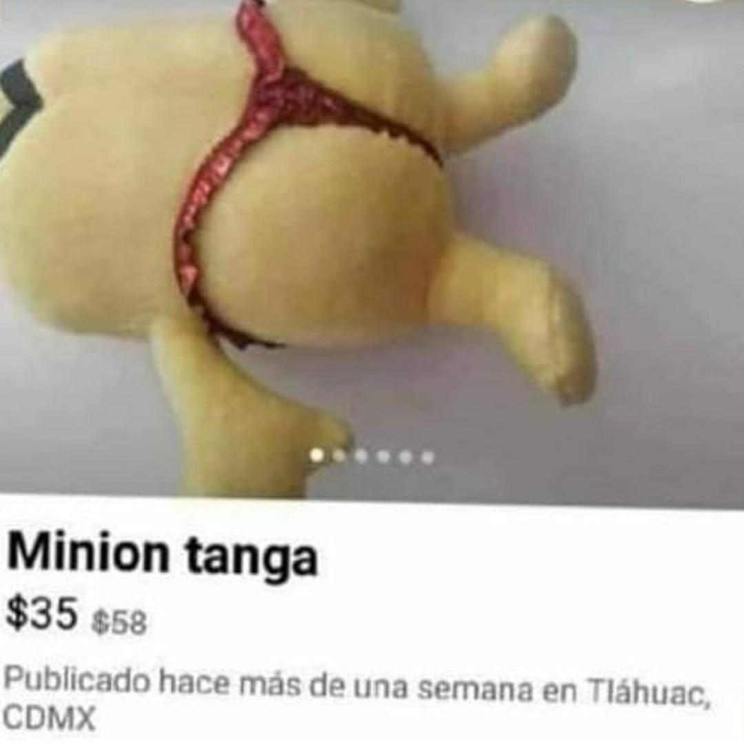 Minion tanga - meme