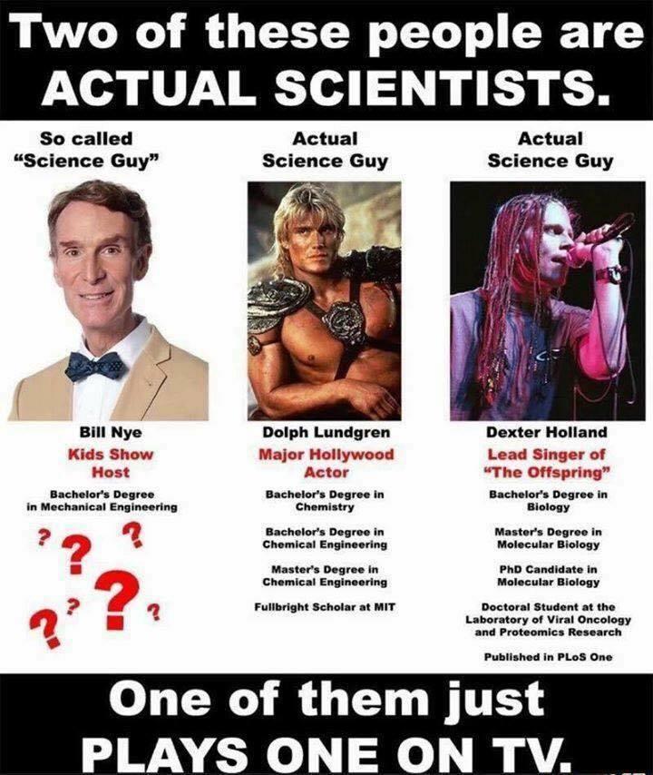 The Science Guy - meme