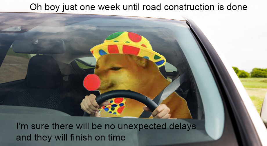 *one month later* - meme