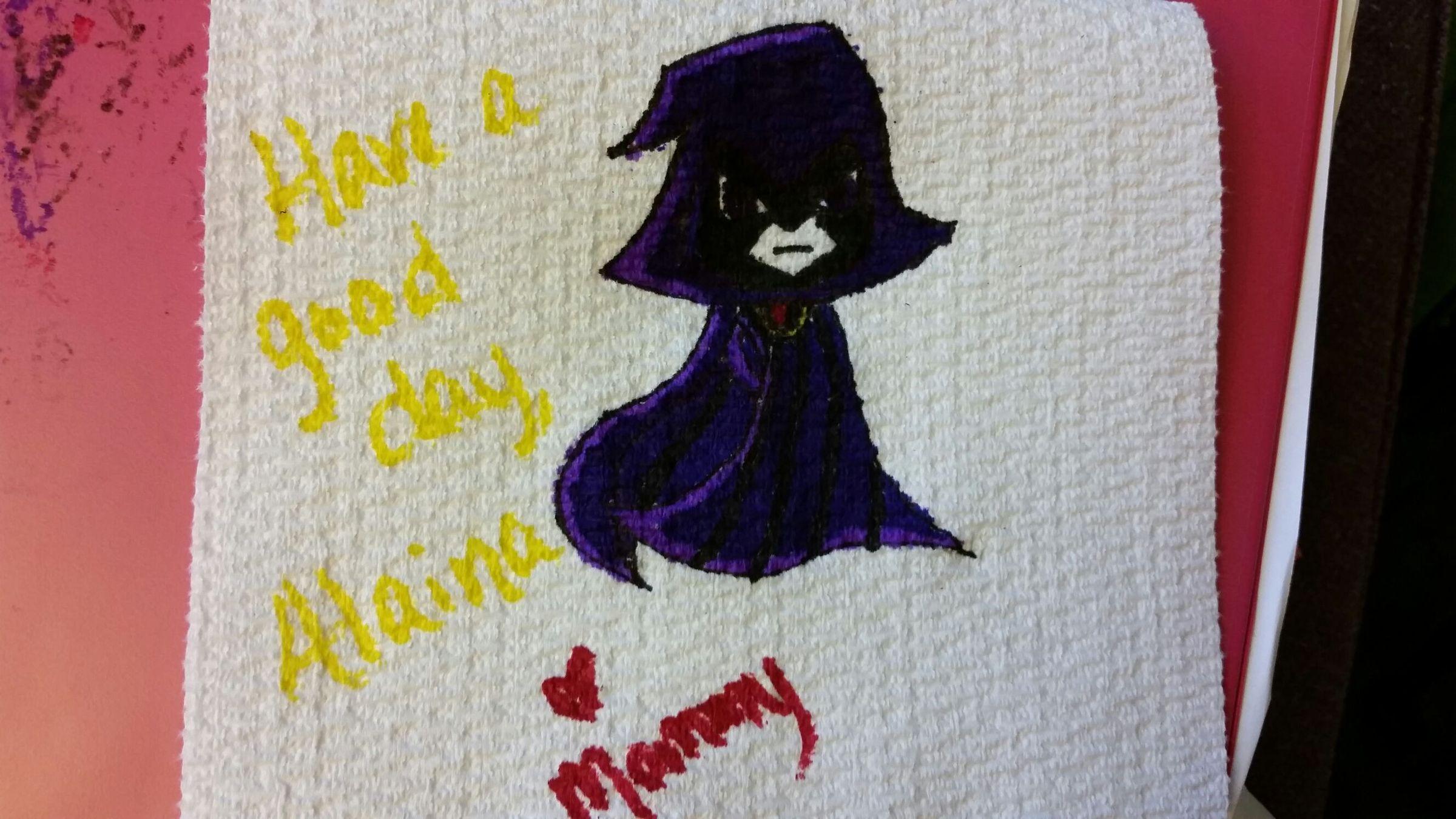 day 3. raven - meme