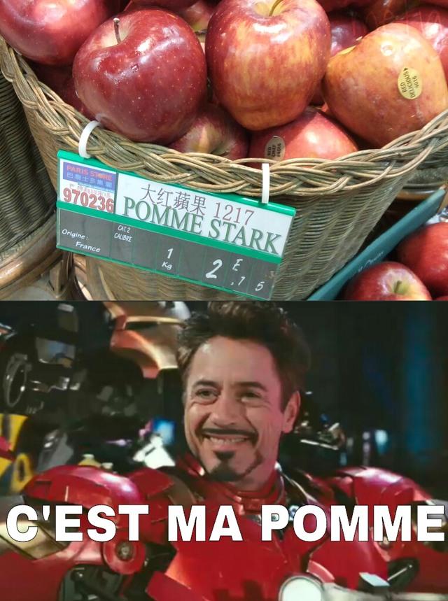 POMME D'API - meme