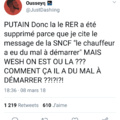Merci la SNCF