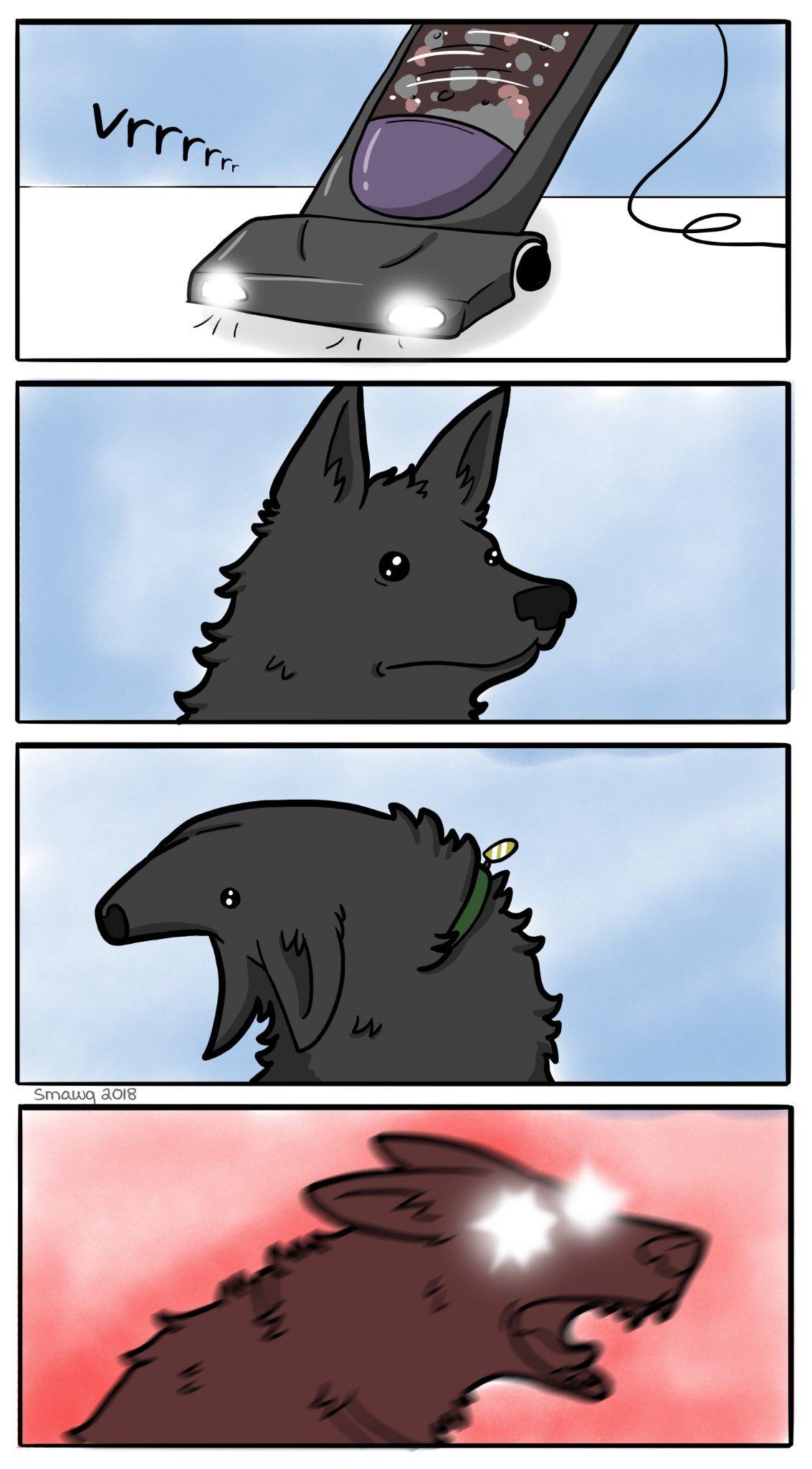 Angry Doggo - meme