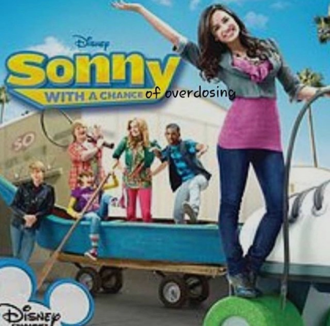 Sonny with a Chance - meme