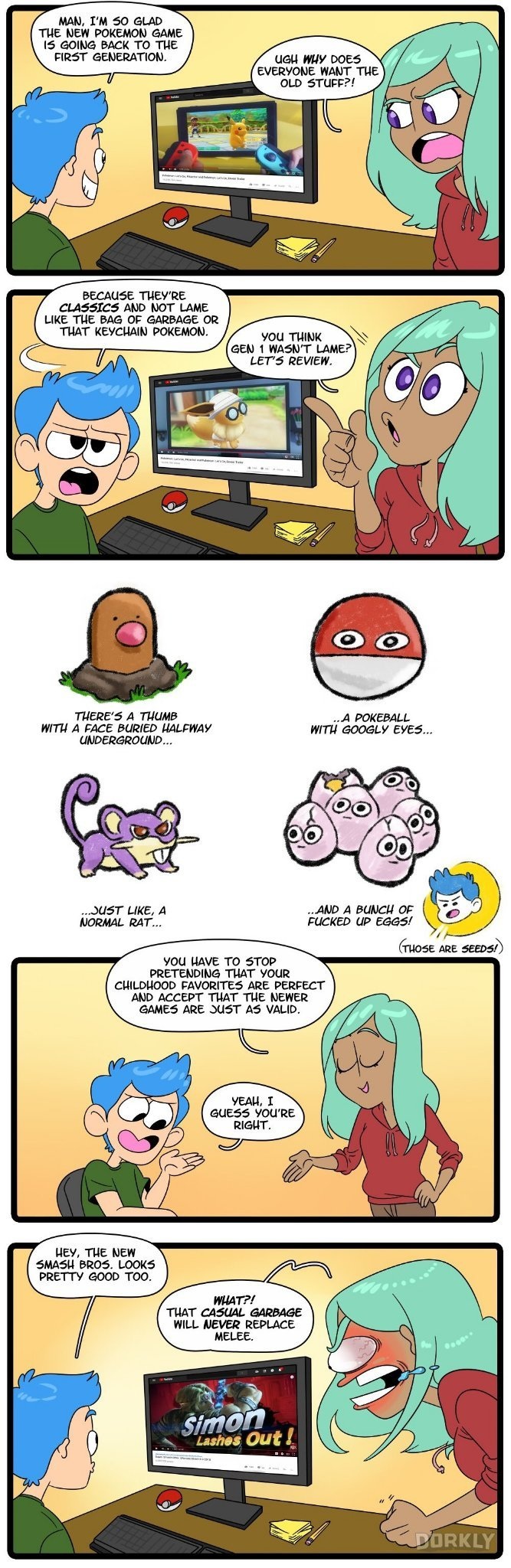 The best Pokémon game is Soul Silver/Heart Gold - meme