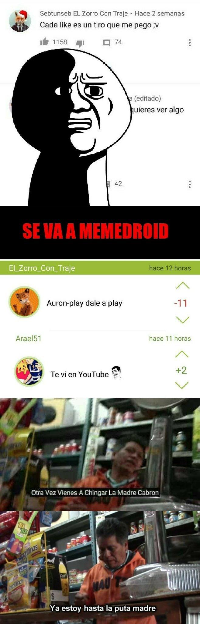 MUERTE A LOS FURROS - meme