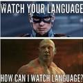 """""""Surveille ton language"""" """"comment veux tu que je surveille du language? """""""