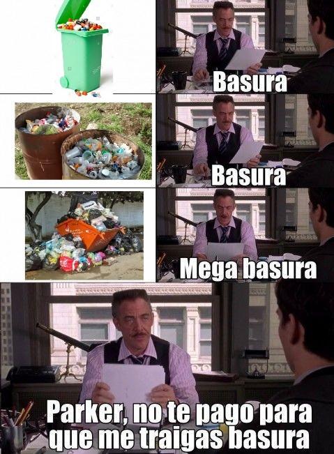 Basura :-* - meme