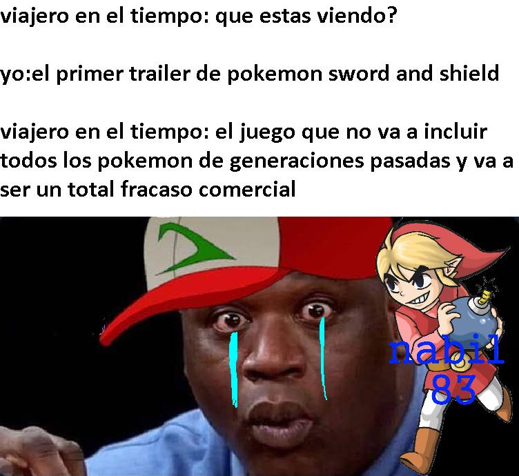 Basicamente Pokemon Espada y Escudo - meme
