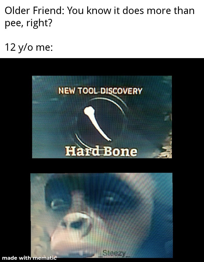 Hard Bone - Sorry for low quality guys - meme