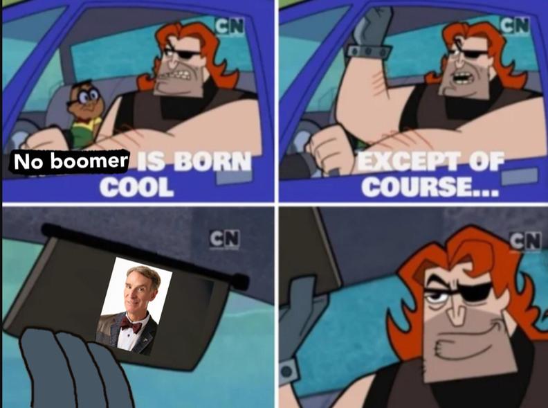 He cool - meme