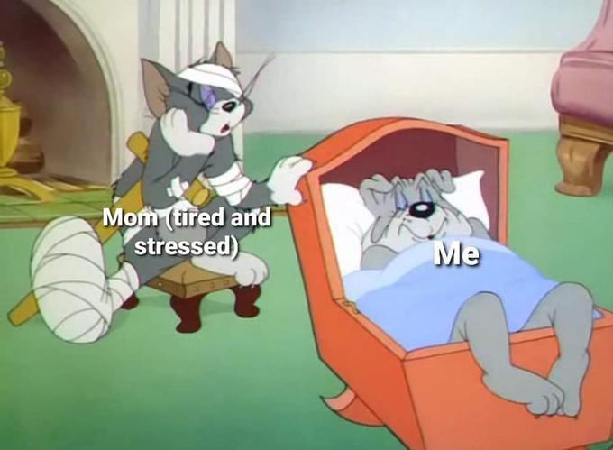 Thanks mom, you're my hero. - meme