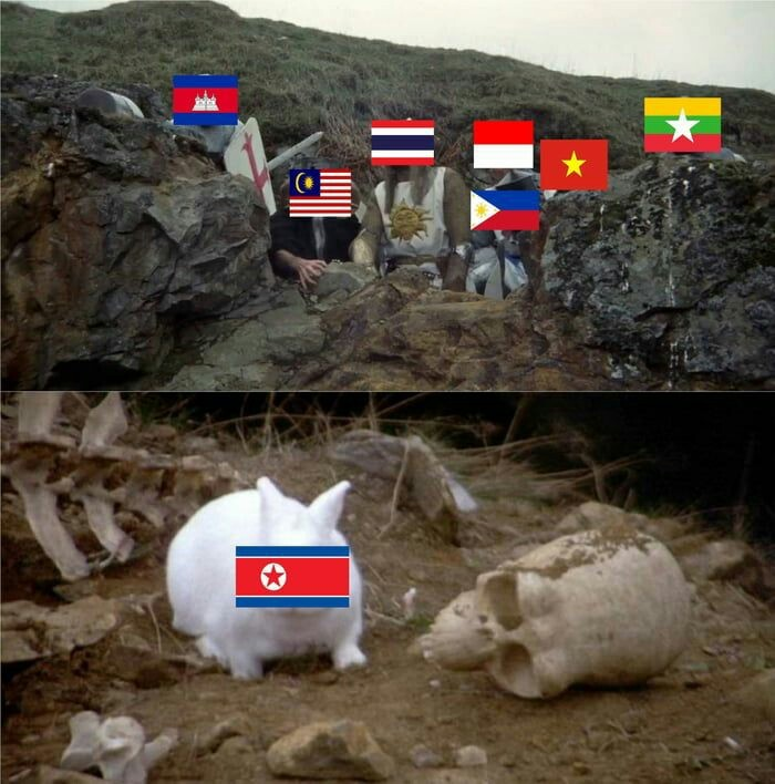 Tienen miedo - meme
