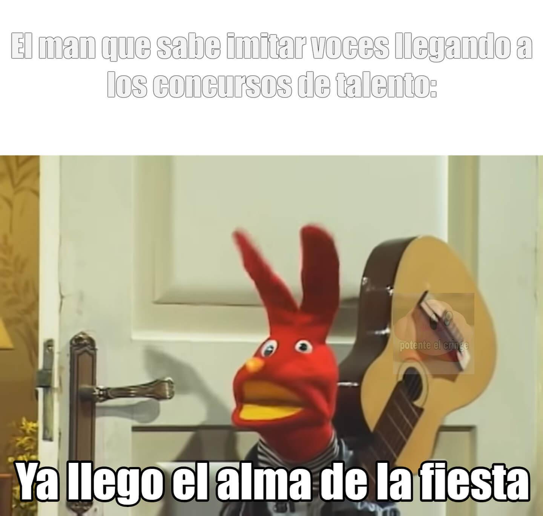 buscando talento del moai be like: - meme