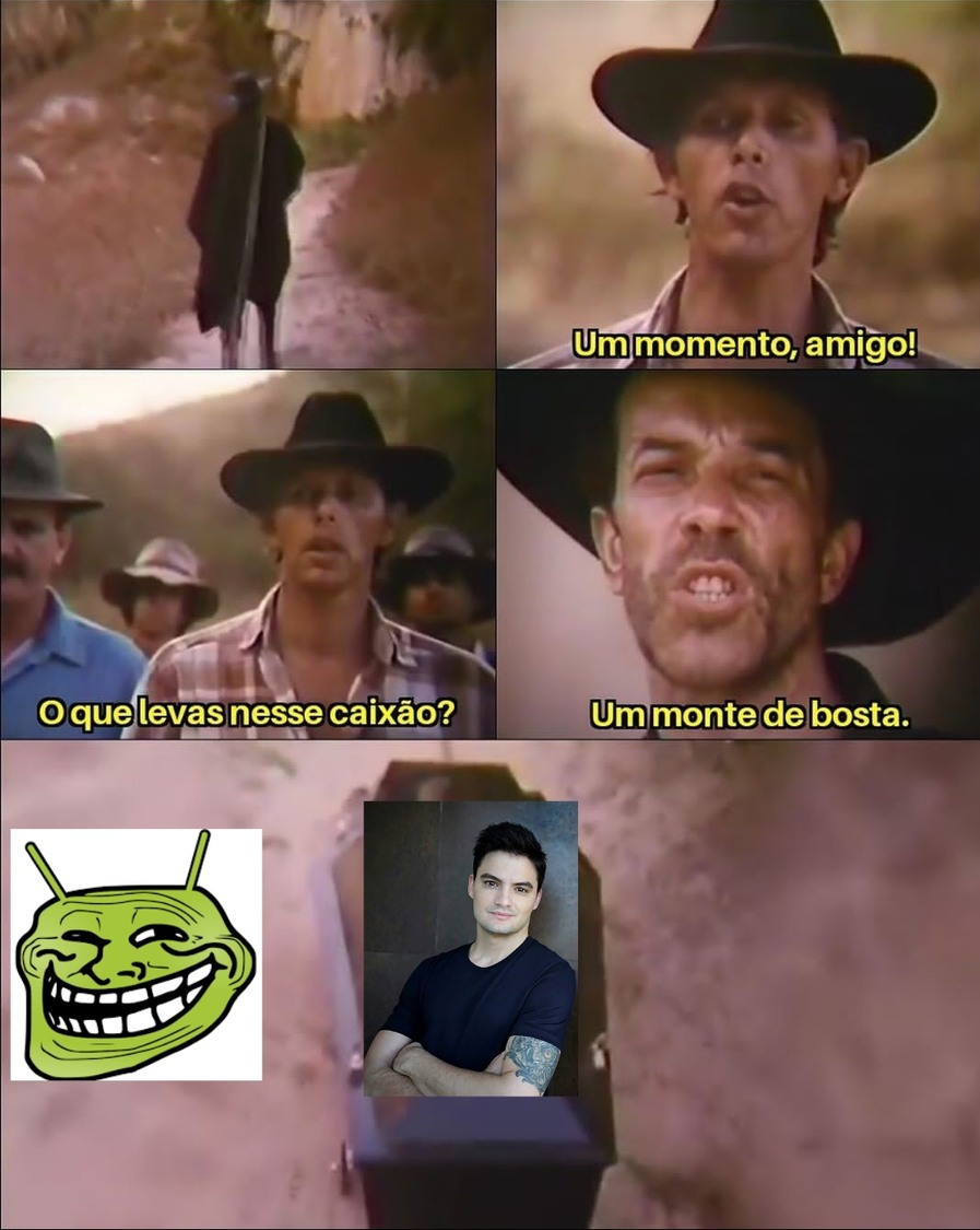 UM MONTE DE FELIPE NETO - meme