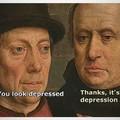 Depression looks good on you