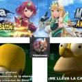 Yo Cuando Vi Que Pyra Y Mythra Se Unieron A Smash Bros Ultimate