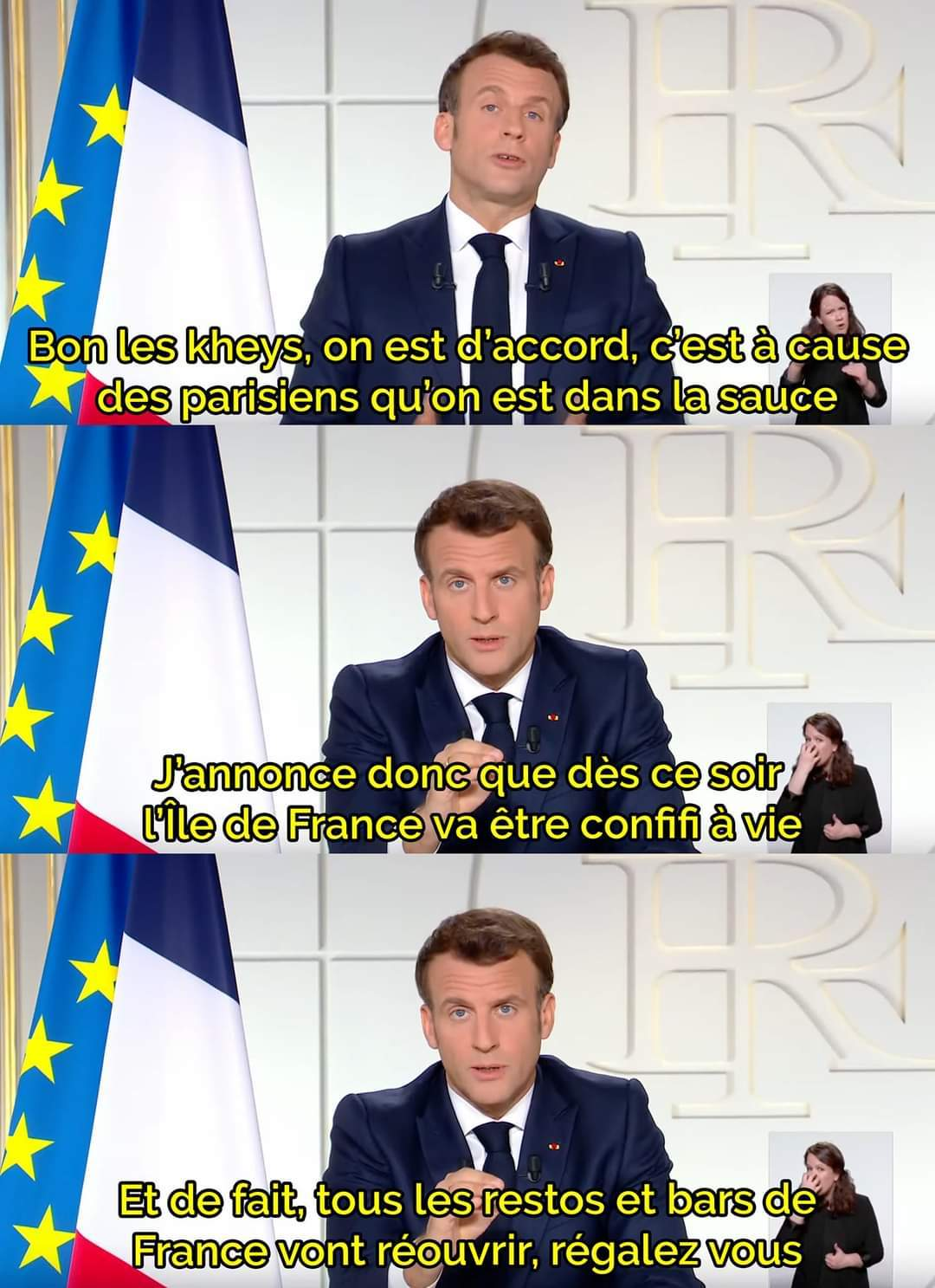 That's the solution (j'vous aime Paris) - meme