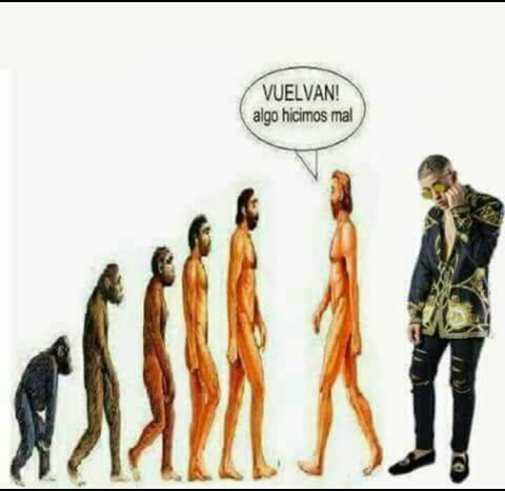 Evolucion? - meme