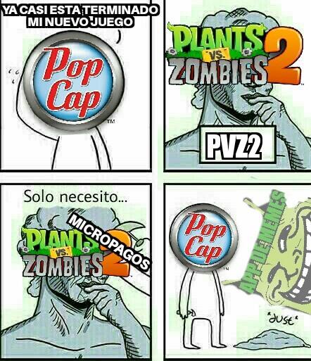 echo de menos a la planta carnivora - meme