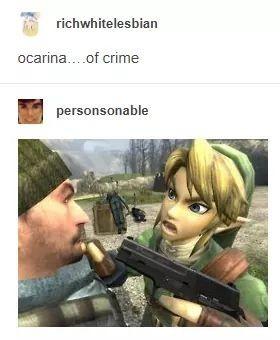 Hyrule gangster - meme