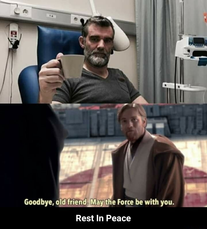 Farewell you beautiful man - meme