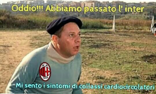 Milan passa l' inter - meme