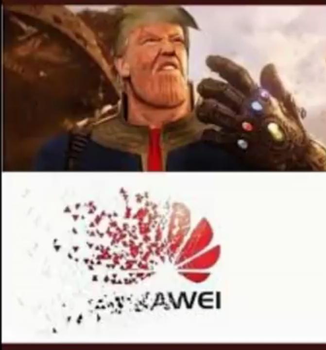Rip Huawei - meme