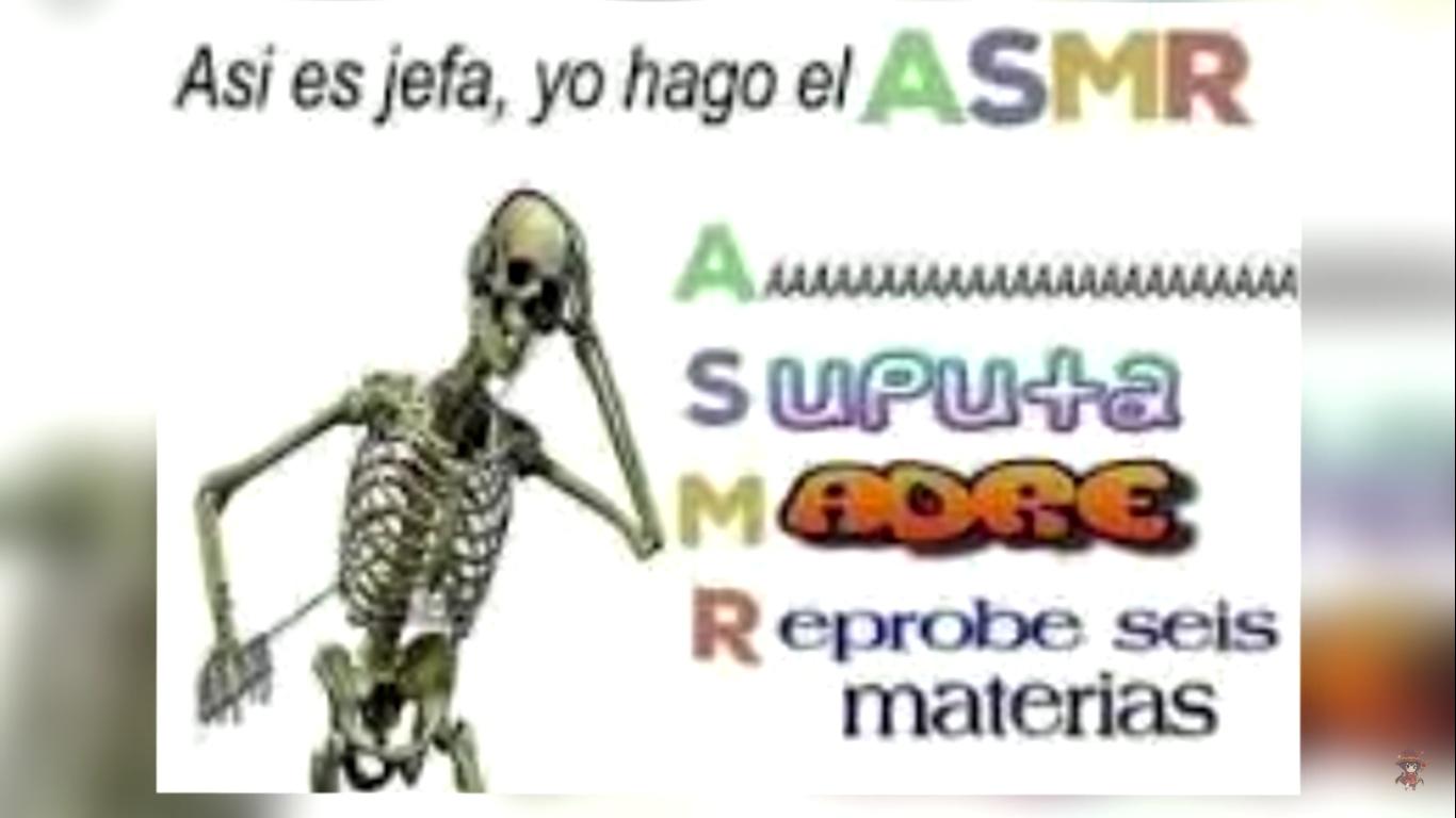 asmr - meme