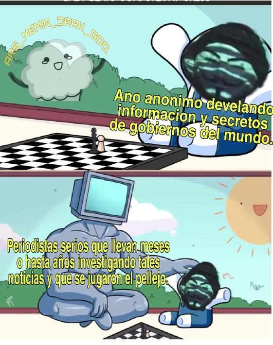 Me gusta el verde :'D y ojala no me hackeen la cuenta pero si no a develado nada nuevo xD - meme