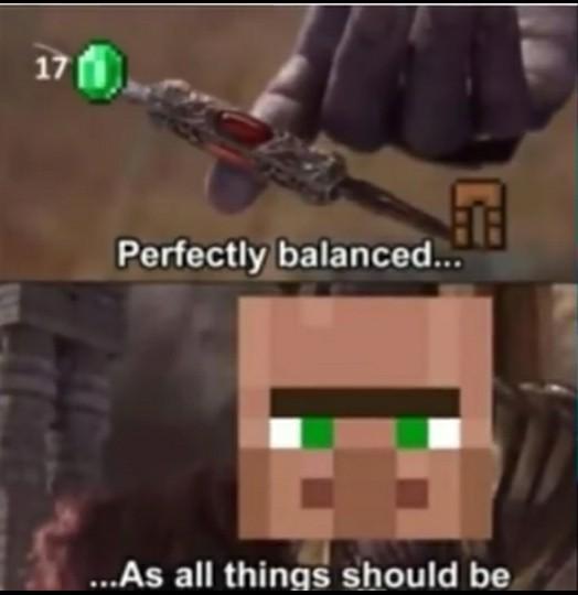 *sonido de aldeano* - meme