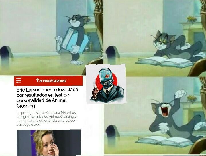 XD se ardió por un test - meme