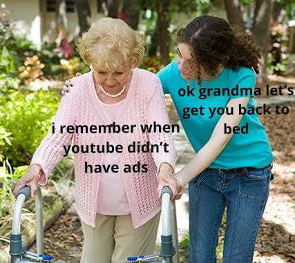 Good old days - meme