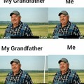 Tech support with grandfather