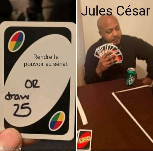 Sacré César - meme