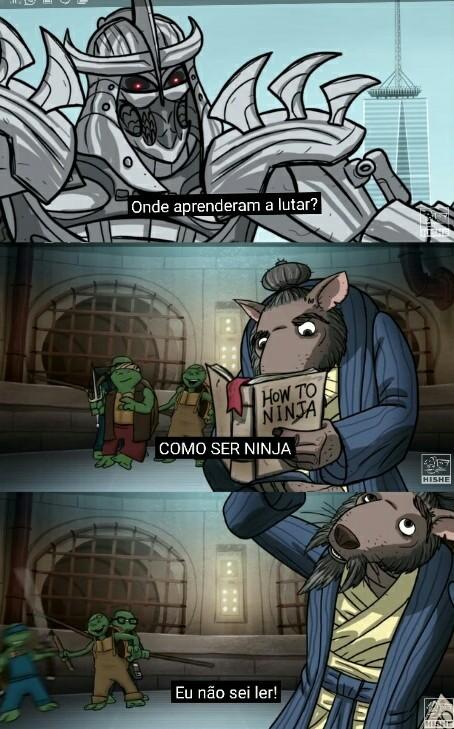 Tartarugas - meme