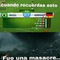 Alemania 7 Brasil 1