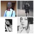 Ces gens avec des photos de profil en noir et blanc
