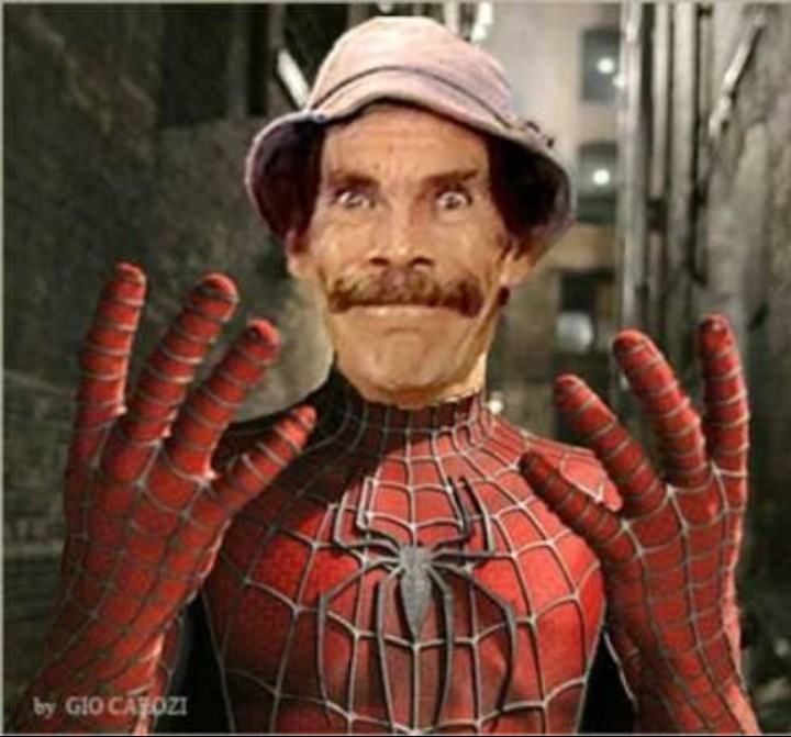 Nova DLC do homem aranha! - meme