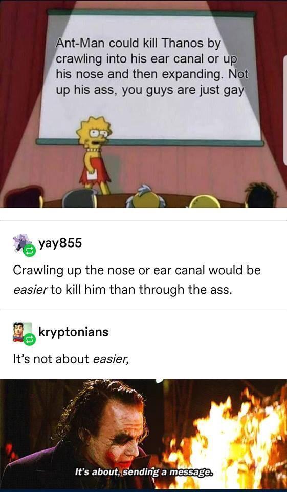How Ant-Man could kill Thanos - meme