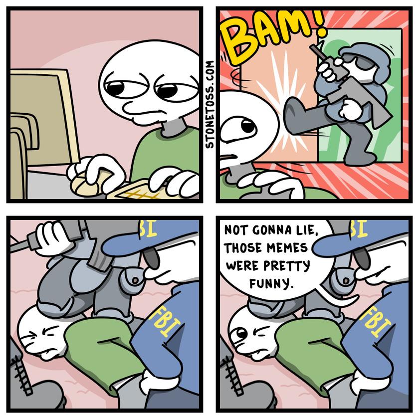 dongs in a stone - meme