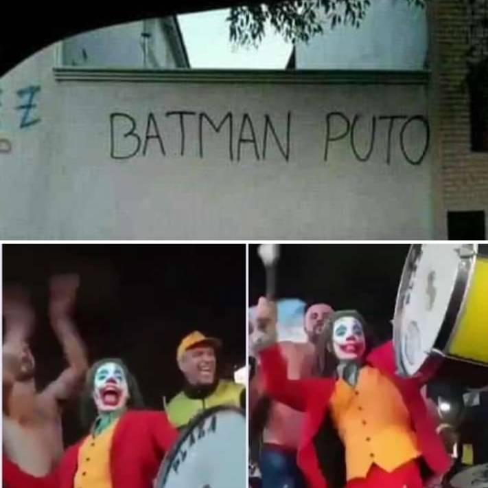 Batman puto - meme