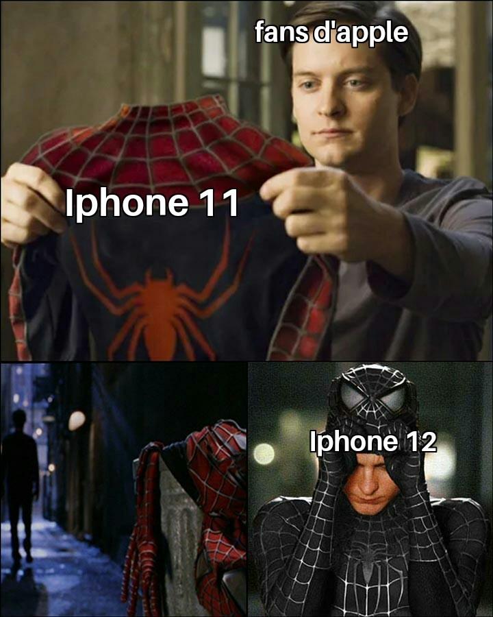 Fans d'Apple = Pigeons - meme