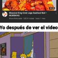 A comer pija de cangrejo señores
